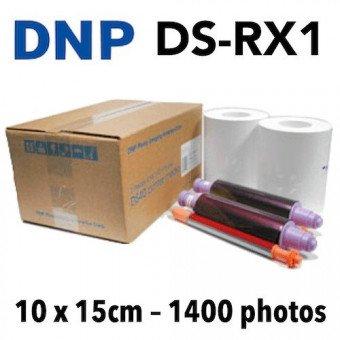 Papier 10X15 DNP RX1 - 1400 Tirages VENTE