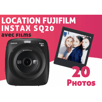 Location Fujifilm Instax Square SQ20 Pack Instax Square