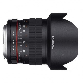 Samyang 10 mm f/2.8 ED AS NCS CS - Monture Micro 4/3 Produits d'occasion