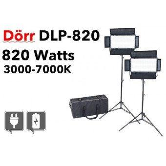 DORR kit d'éclairage continu LED DLP-820 - Bi-couleur Produits d'occasion