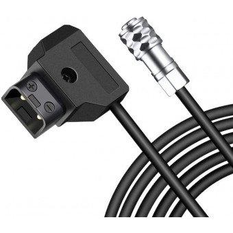 Câble D-Tap 2 Broches pour Blackmagic Pocket 6K / 4K - (140 cm) Câbles Vidéo