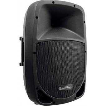 Enceinte 100 w + 2x micros main - Batterie & Secteur - OMNITRONIC MES-12BT2 Sono & DJ