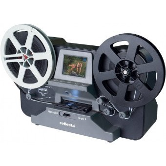 Reflecta Film Scanner Super 8 - Normal 8 Scanner Photo - Film - Diapo