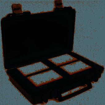 Aputure MC 4-Light Travel Kit de 4x torches RGBWW Panneaux Led