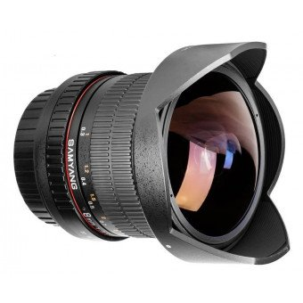 Samyang 8 mm f/3.5 IF MC Fish-Eye CSII DH - Objectif photo monture Canon Samyang-Canon