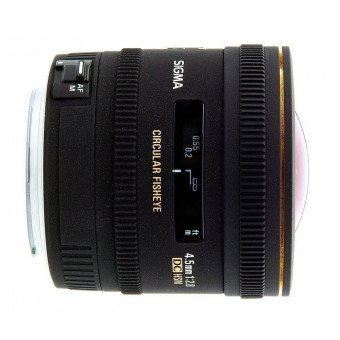 Sigma 4,5 mm f/2,8 FISHEYE - Monture Nikon Fisheye
