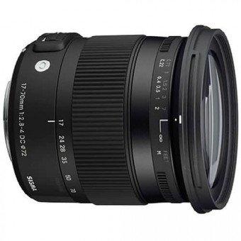 Sigma 17-70 mm f2.8-4 DC MACRO OS HSM - Monture Nikon Standard