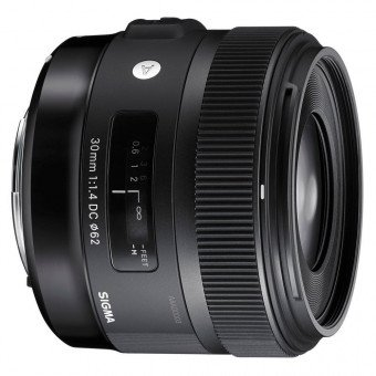 Sigma 30 mm f/1,4 DC HSM - Art - Monture Nikon Standard